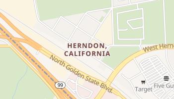 Herndon, California map