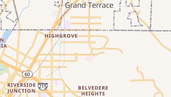 Highgrove, California map
