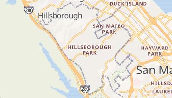 Hillsborough, California map