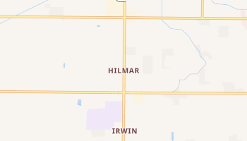 Hilmar, California map