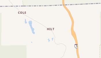 Hilt, California map