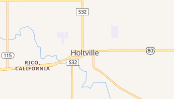 Holtville, California map