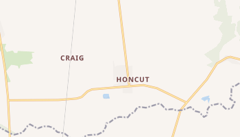 Honcut, California map