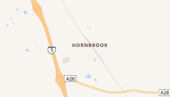 Hornbrook, California map