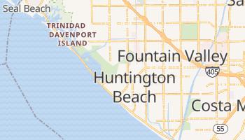 Huntington Beach, California map
