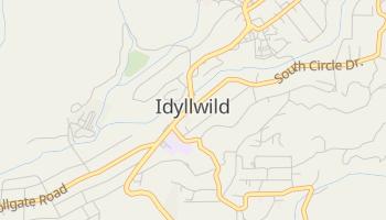 Idyllwild, California map