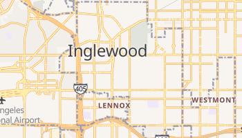 Inglewood, California map