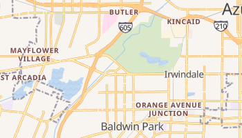 Irwindale, California map