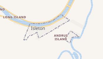 Isleton, California map