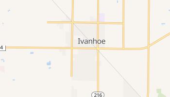 Ivanhoe, California map