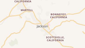 Jackson, California map