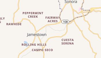 Jamestown, California map