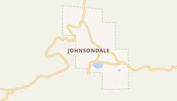 Johnsondale, California map