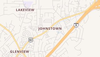 Johnstown, California map