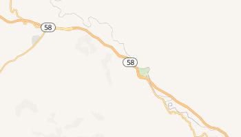 Keene, California map