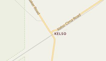 Kelso, California map