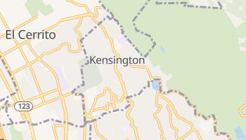 Kensington, California map