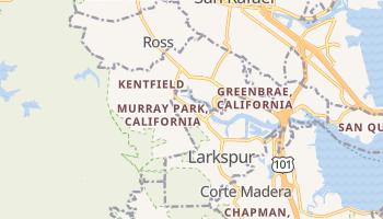 Kentfield, California map