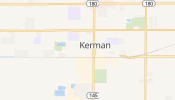 Kerman, California map