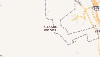 Kilkare Woods, California map