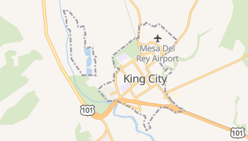 King City, California map