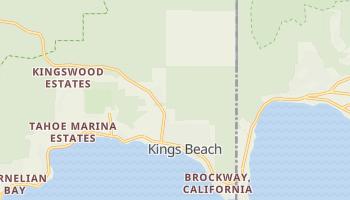 Kings Beach, California map