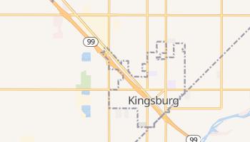 Kingsburg, California map