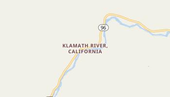 Klamath River, California map