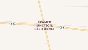 Kramer Junction, California map