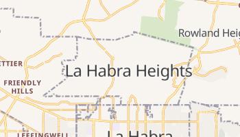 La Habra Heights, California map