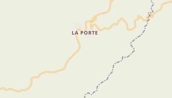 La Porte, California map