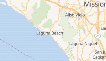 Laguna Beach, California map