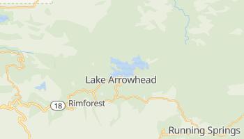 Lake Arrowhead, California map