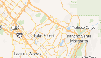 Lake Forest, California map