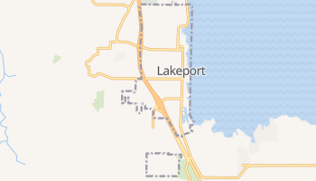 Lakeport, California map