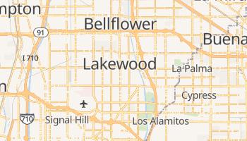 Lakewood, California map
