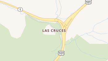 Las Cruces, California map