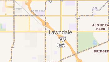 Lawndale, California map