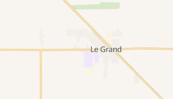 Le Grand, California map