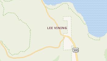 Lee Vining, California map
