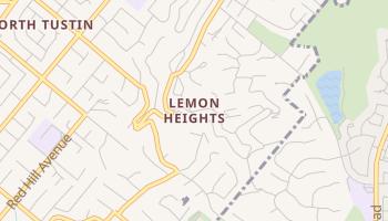 Lemon Heights, California map