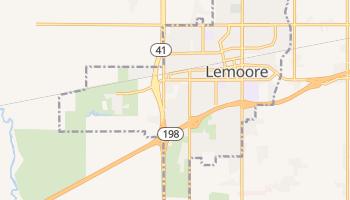 Lemoore, California map