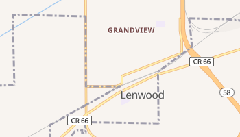 Lenwood, California map