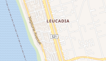 Leucadia, California map