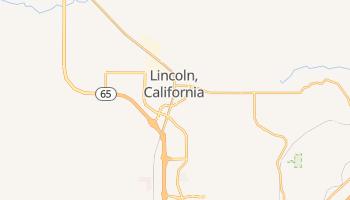 Lincoln, California map