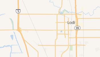 Lodi, California map