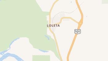Loleta, California map