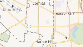 Lomita, California map