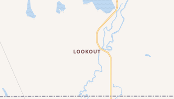 Lookout, California map