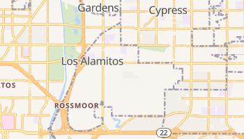 Los Alamitos, California map
